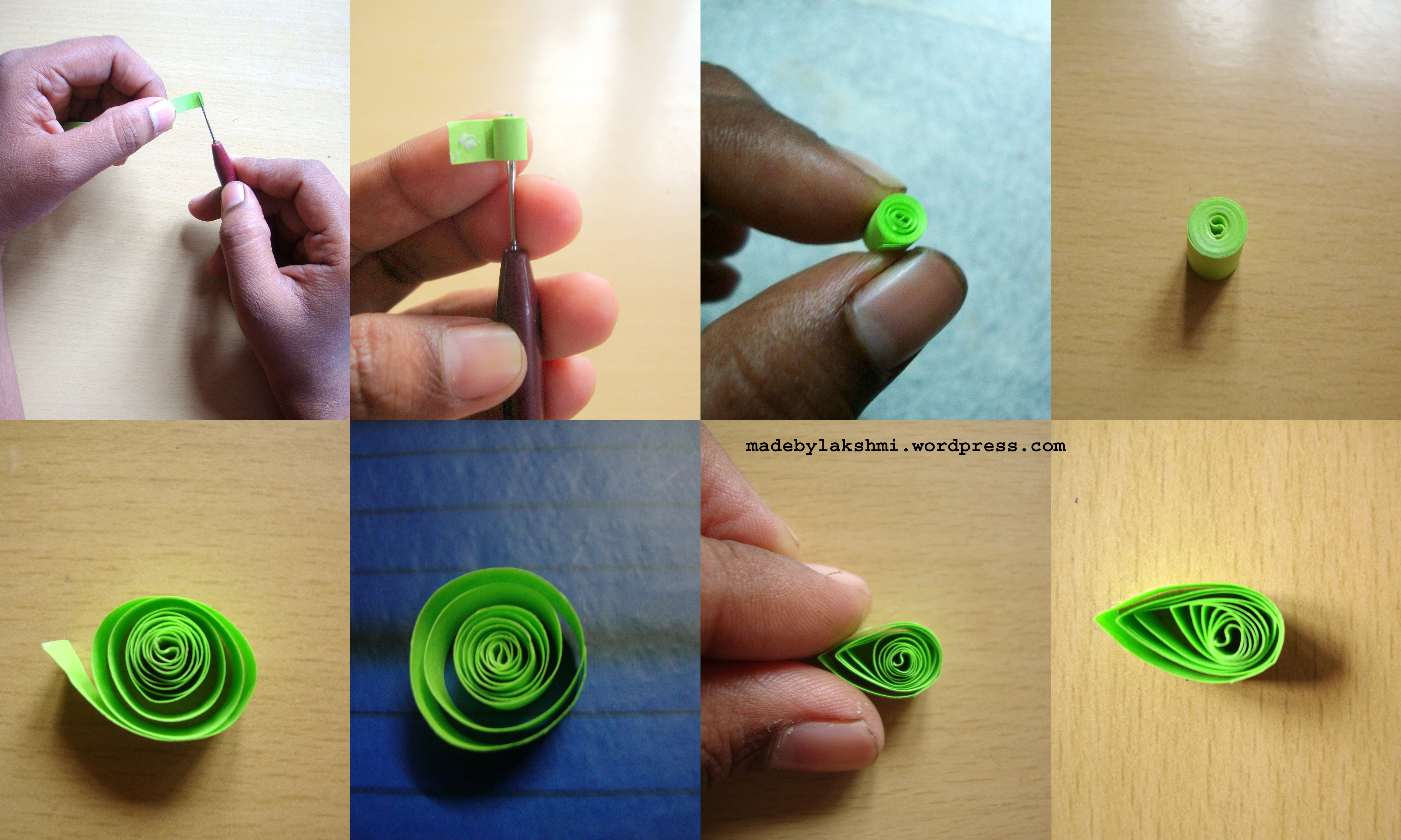 Quilling for Easy quilling designs step by step