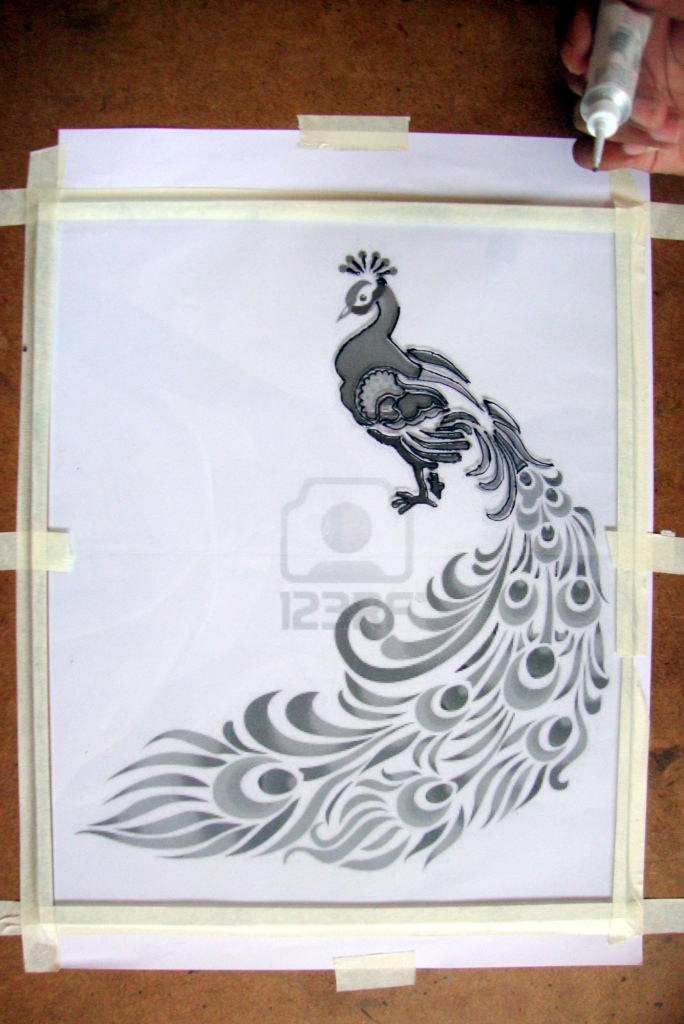 Glass Painting Tutorial M De By Lakshmi