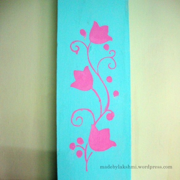 Stencil painting