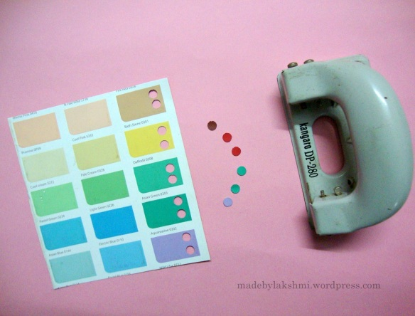 punch paint chips
