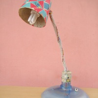 DIY Paper mache craft - Lampshade
