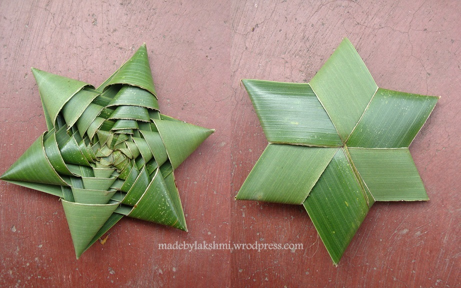 how to make paper out of coconut leaves
