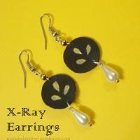 X - Ray Earring JOTW #12