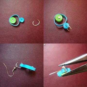 assembling earring