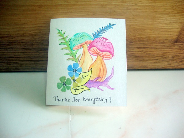 Thanks Giving card