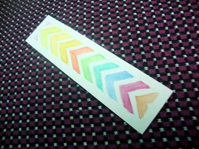 chevron bookmark